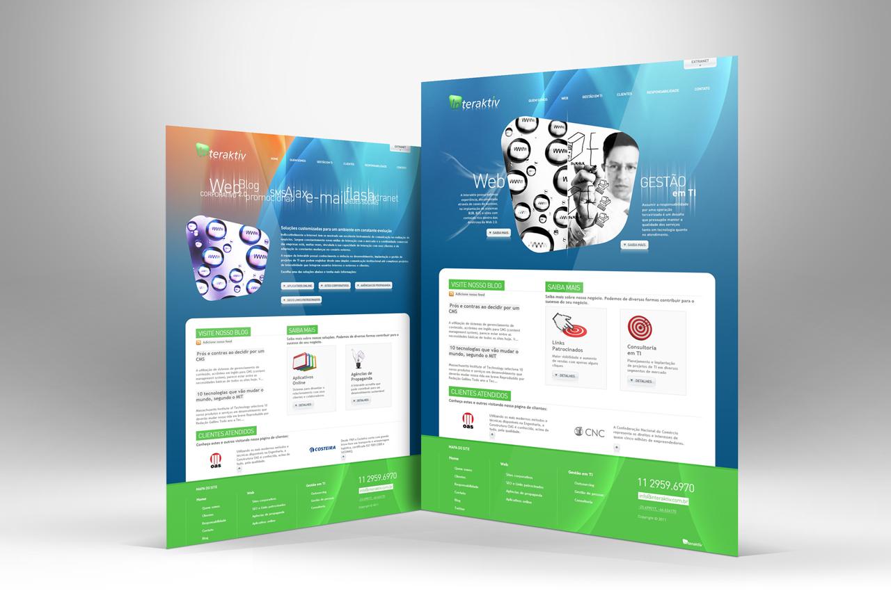 Interaktiv - Site - Criação e desenvolvimento: Nego Júnior