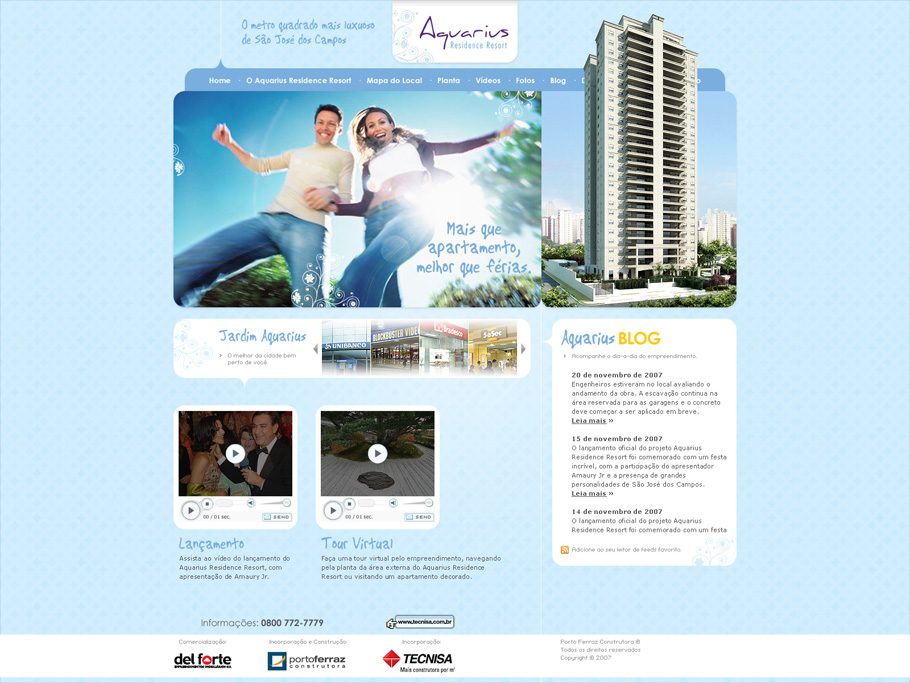 Aquarius Residence Resort · Site