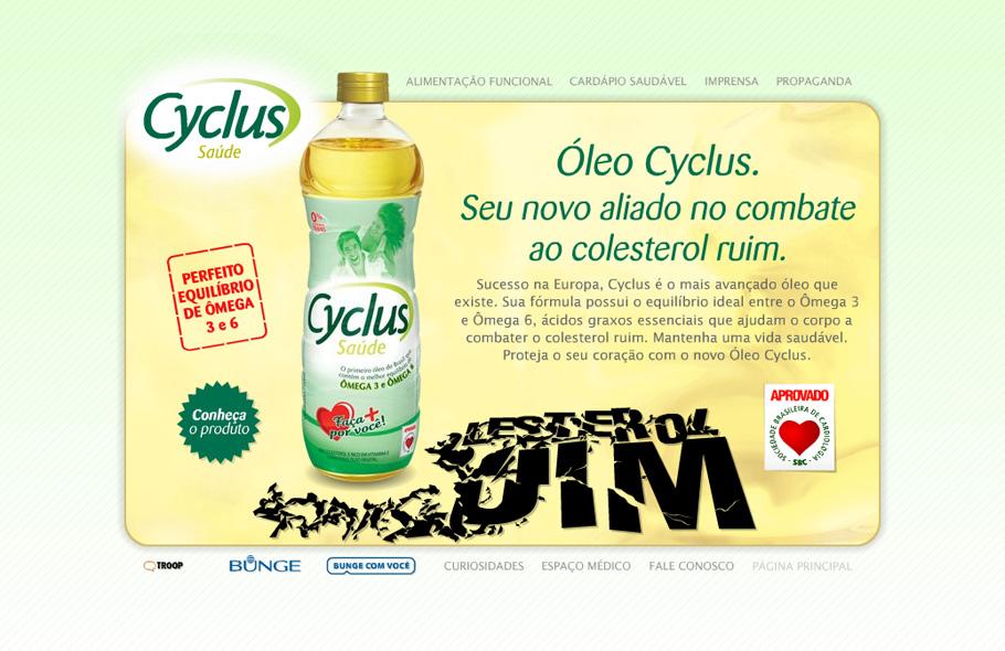 Óleo Cyclus · Site