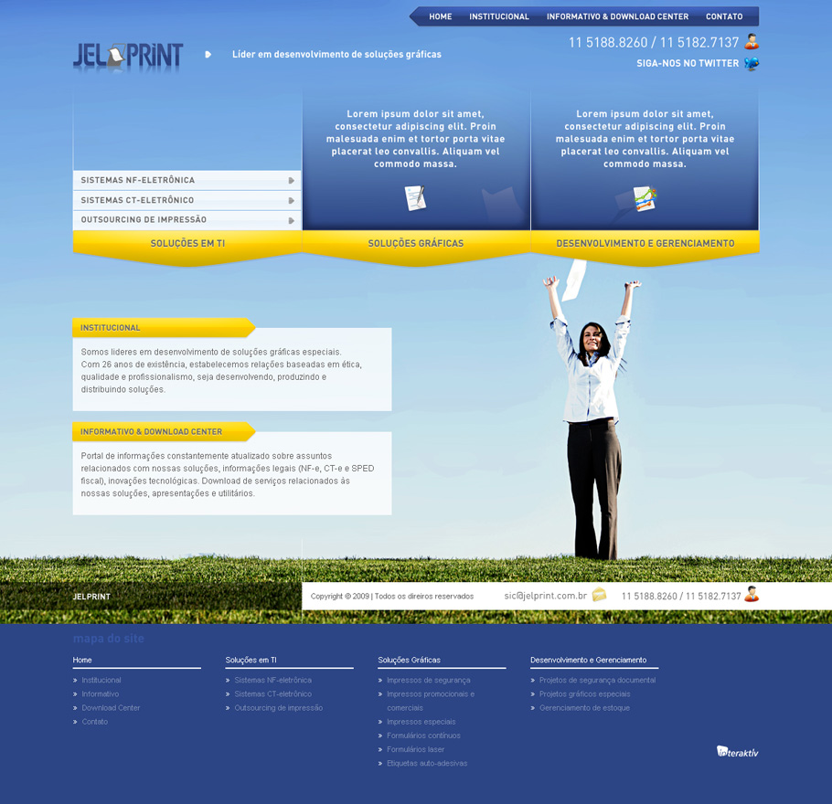 Jelprint · Site