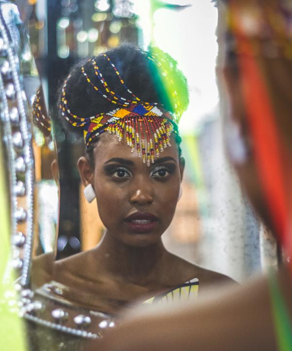 Noiva Xongani - Museu Afro Brasil - Direção de ensaio