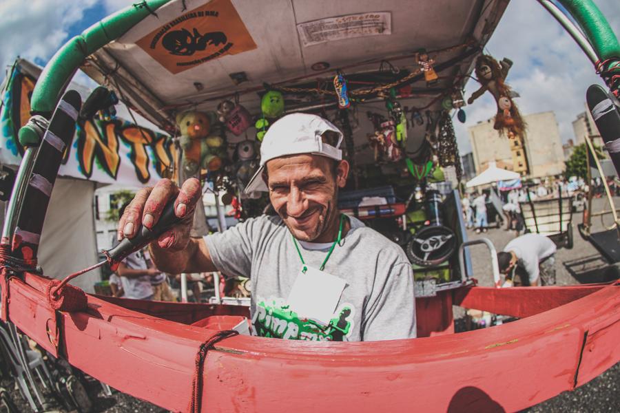 Pimp my Carroça - Foto: Nego Júnior - Todos os direitos reservados - Copygright ©