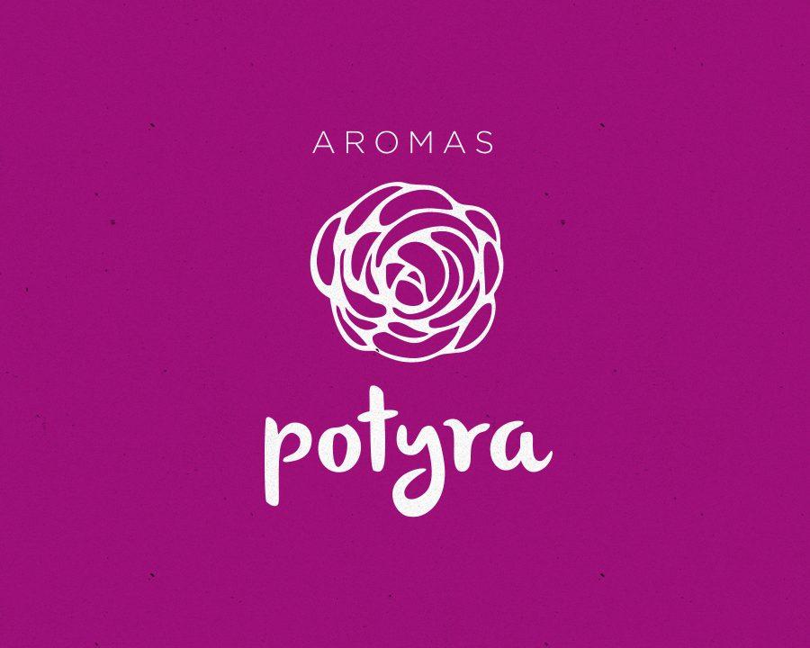 Aromas Potyra - Branding e comunicação