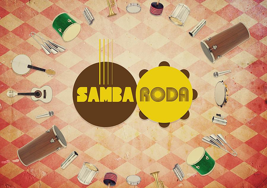 Samba Roda - Conceito cultural e arte: Nego Júnior