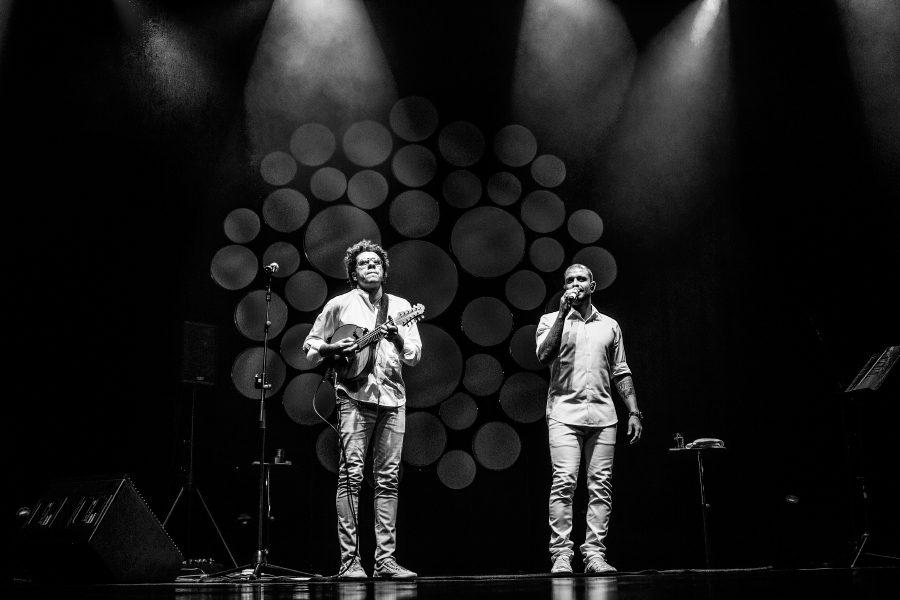 Diogo Nogueira e Hamilton de Holanda - Foto: Nego Júnior