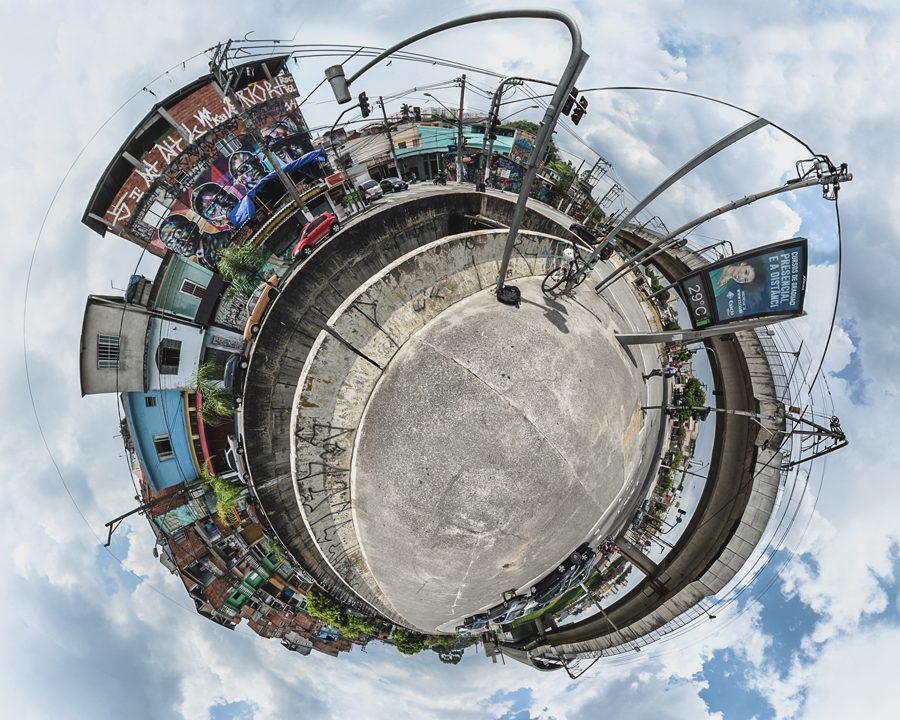 Ensaio Stereographic - SP em Mini Planetas