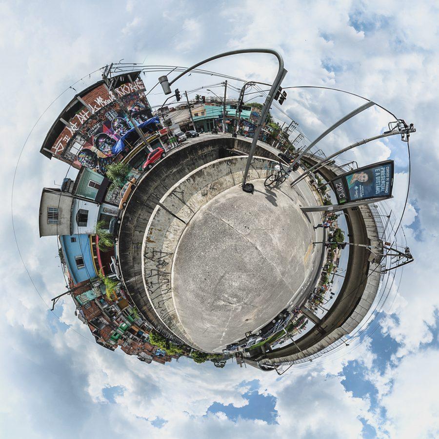 Stereographic - Mini Planeta - Foto: Nego Júnior - Todos os direitos reservados - Copygright ©